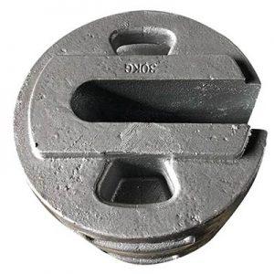 cast counterweight iron