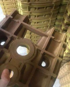 shell sand castle cast